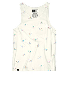 Dedicated AO Surfers Tank Top Off-White
