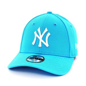 New Era Womens League Essential Kids NY Yankees Youth Cap Vice Blue