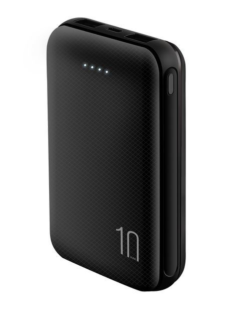 Baykron 10000mAh Power Bank Black