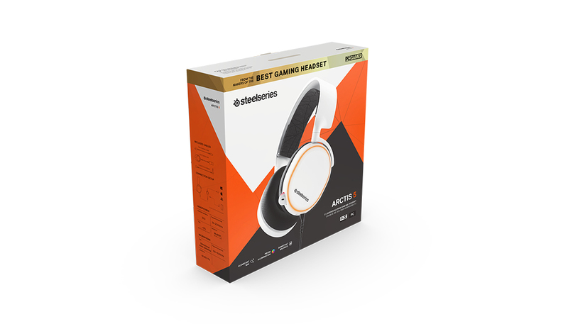 Steelseries Arctis 5 White 2019 Edition Gaming Headset