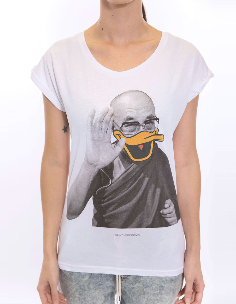 Saint Noir Dalai  Rolled Sleeves Women's T-Shirt