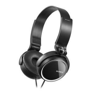 Sony Mdrxb250 Black Extra Bass Headphones