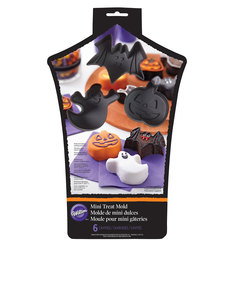 Wilton Haunted House Mini-Treat Silicon Molds [6 Pieces]