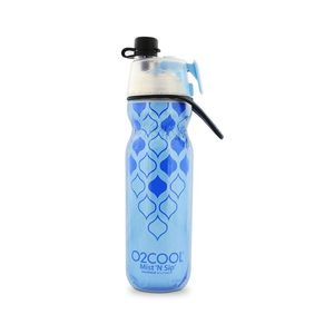 O2Cool Classic Elite Mist'N Sip Insulated Articsqueeze Colors 20Oz Yoga Blue
