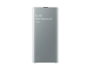 Samsung B1 Clear View Cover White for Galaxy S10