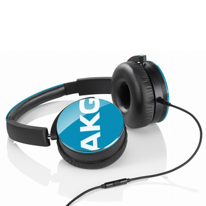 Akg Y50 Teal W/Remote & Mic Headphones