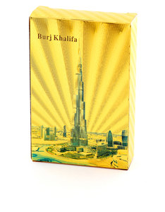 Burj Khalifa Gold Foil Plated Playing Cards
