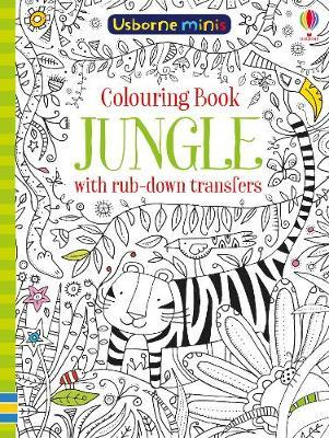 Colouring Book Jungle with Rub Down Transfers | 4 to 8 Years | Kids ...