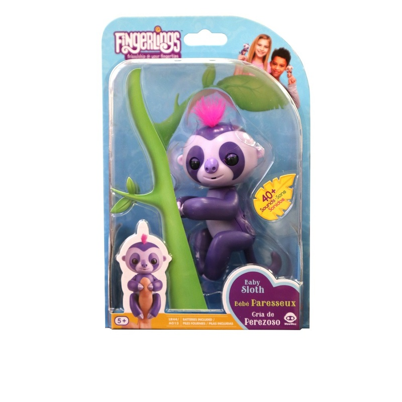 Fingerlings Baby Sloth Marge Playsets Toys Gifts