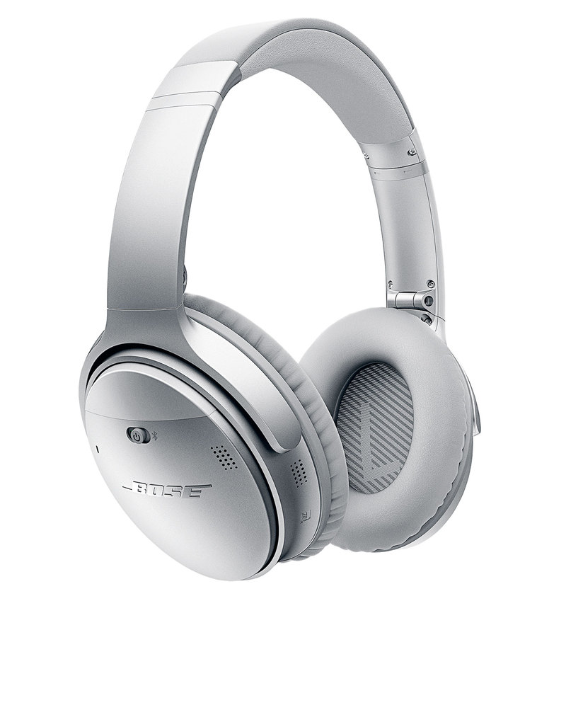 e6f84ec39c9 Bose QuietComfort 35 Silver Wireless Headphones | On-Ear Headphones ...