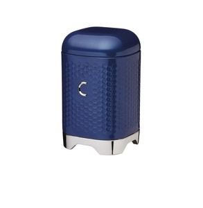 Lovello Midnight Navy Coffee Canister