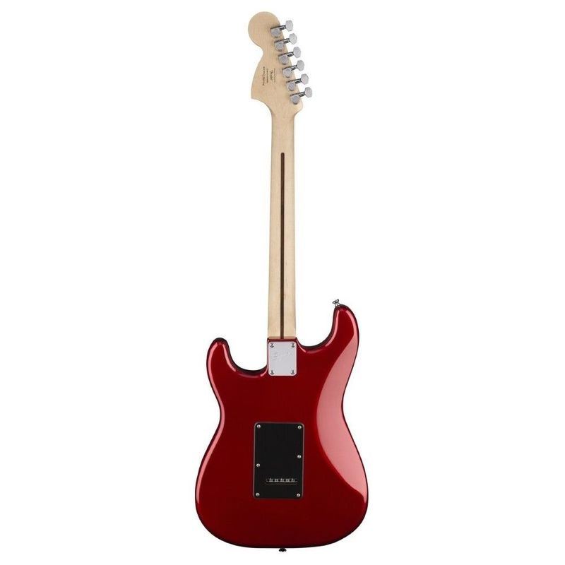 Squier by Fender Affinity Series Stratocaster HSS 15G Electric Guitar Pack  Candy Apple Red