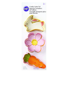 Wilton Easter Spring Cookie Cutters [Set of 3]