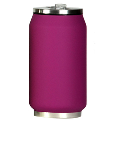 Yoko Soft Touch 280Ml Raspberry Travel Mug