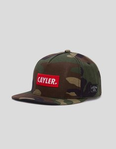 Cayler & Sons WL Statement Woodland/Red Cap
