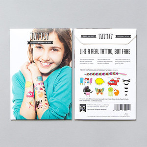 Tattly Kids Mix 2 Temporary Tattoo Set