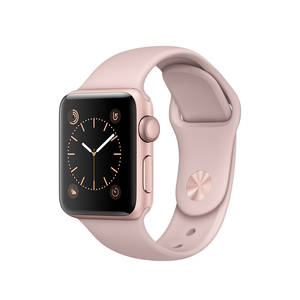 Apple Watch Series 1 Sport Band Pink Sand Rose Gold Aluminium Case 38mm