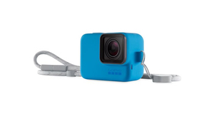 Gopro Sleeve Blue + Lanyard for Hero6/5/2018