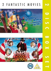 Willy Wonka And The Chocolate Factory & Charlie And The Chocolate Factory [2 Disc Set]