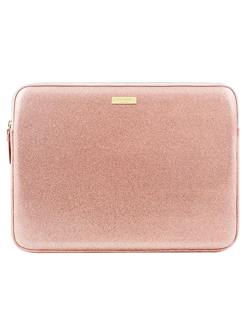 the latest 66862 f617e Kate Spade New York Glitter Sleeve Rose Gold Glitter Macbook Air/Pro 13