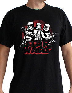 Abystyle Star Wars Stormtroopers Black T-Shirt