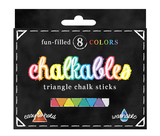 International Arrivals Chalkables Triangle Jumbo Assorted Chalk