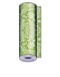 Paperproducts Table Runner Lace Pastel Lime