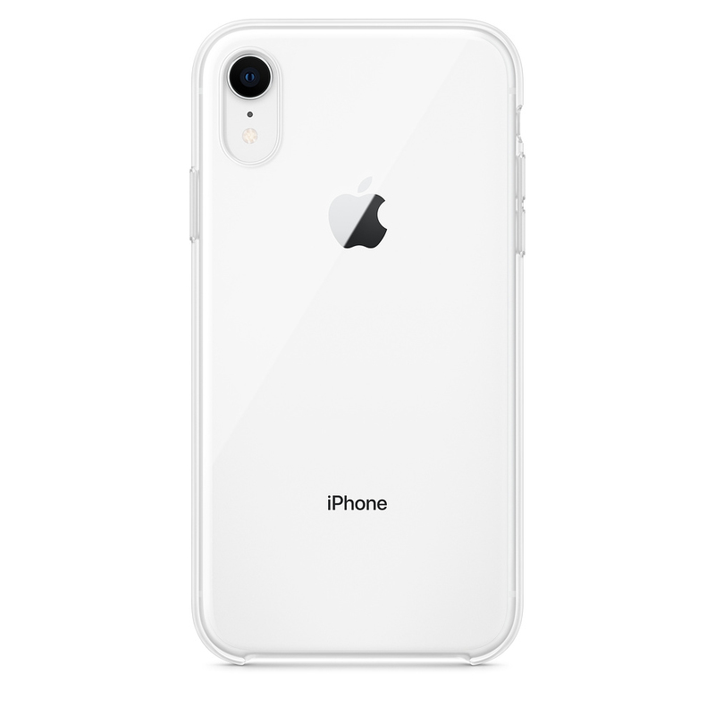new style 3ef14 048f5 Apple Clear Case for iPhone XR