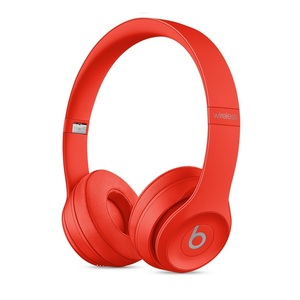 Beats Solo3 Red Wireless On-Ear Headphones