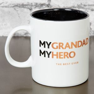 Harvey Makin Hero Stoneware My Grandad My Hero Mug