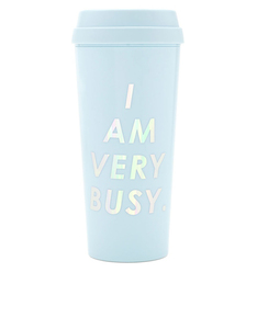 Ban.do Hot Stuff Thermal Mug I Am Very Busy Ice Blue