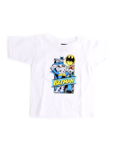 Batman Out Of The Pages White Toddler T-Shirt