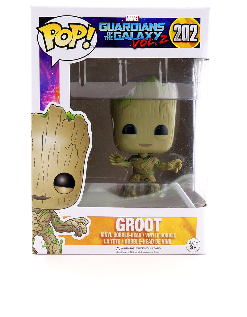 Grown Up Toys : Funko pop gotg groot vinyl figure figures sculptures