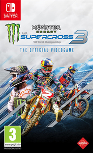 Monster Energy Supercross The Official Videogame 3 - Nintendo Switch