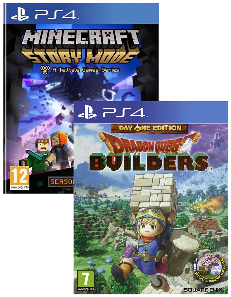 dragon quest builders day one edition minecraft story. Black Bedroom Furniture Sets. Home Design Ideas