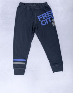 Freecity Strike Sounds 3/4 Deep Space Blue Sweatpants