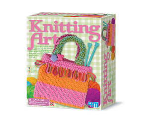 4M Knitting Art Craft Kit