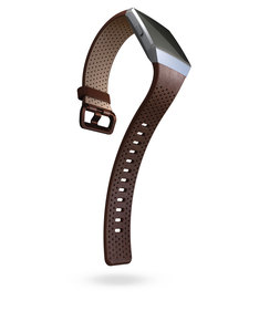 Fitbit Leather Band Cognac Large For Ionic