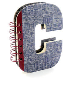 Alpha Note Books Mini Letter C
