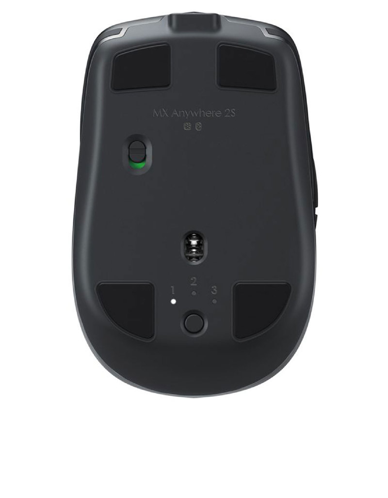 Logitech MX Anywhere 2S Graphite Wireless Mobile Mouse
