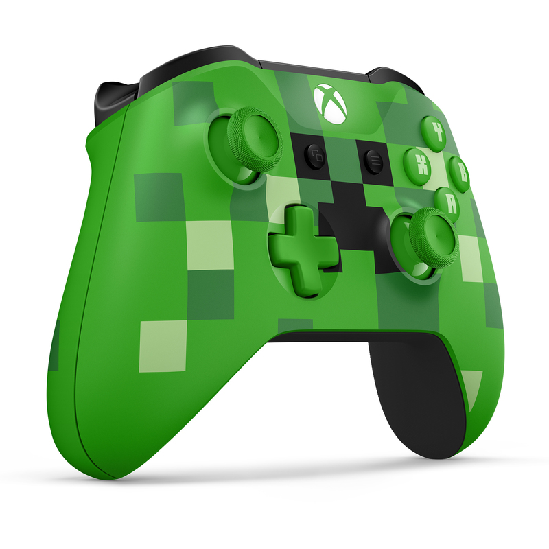 Microsoft Minecraft Creeper Controller For Xbox One