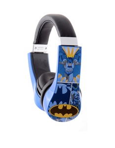 Sakar Batman Kid-Friendly Volume Limiting Headphones