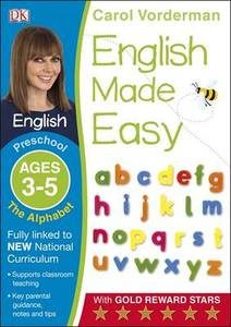 English Made Easy The Alphabet Preschool Ages 3-5
