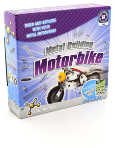 Science 4 You Build & Play: Metal Building Motorcyle