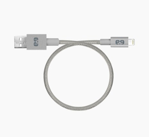 Puregear Metallic Lightning Cable Slate Grey 6.9 Inch