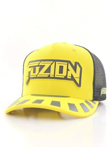 Fuzion Xtreme Baseball Cap Yellow/Gray