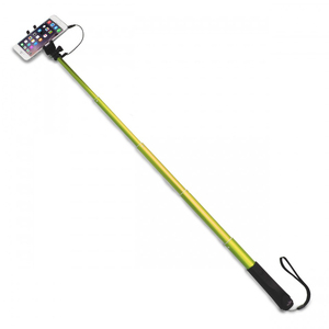 Puro Selfie Monopod 83cm Green with 35mm Cable Jack