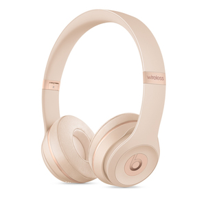 Beats By Dr. Dre Solo3 Matte Gold On-Ear Headphones