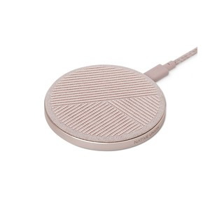Native Union Drop Charge Fabric Rose Wireless Pad Charger