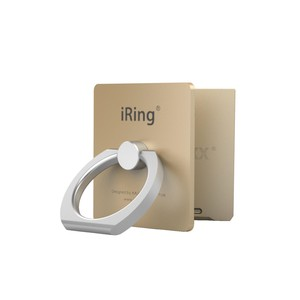 iRing Link Gold Grip/Stand for Smartphones